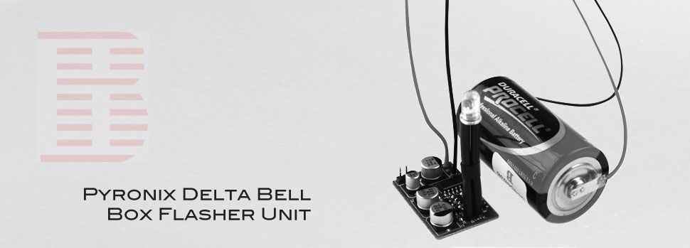 pyronix delta bell box flasher unit from bentley security
