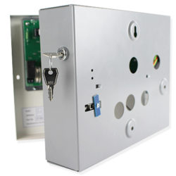 Lockable sprinkler test unit